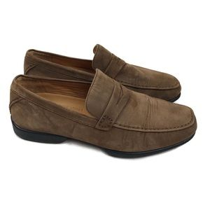 Rockport Reserve Men's Brown Suede Leather Loafers